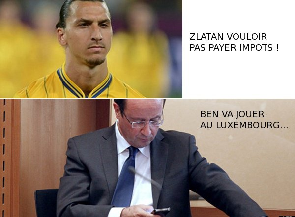Hollande rpond  Ibrahimovic